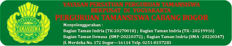 Perguruan Tamansiswa Cabang Bogor