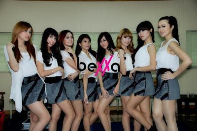 Foto Gaya Cantik dan Seksi Personil Girlband Bexxa