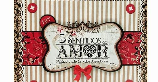 Ribartes Caixa Dos 5 Sentidos Do Amor Uma Prenda Original Para O