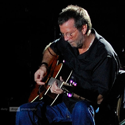 Eric Clapton going acoustic. Perth 2007. Copyright Sheldon Levis 2011
