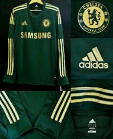 Jersey Petr Cech, Kiper Chelsea Warna Hijau Tua Musim 2012/2013