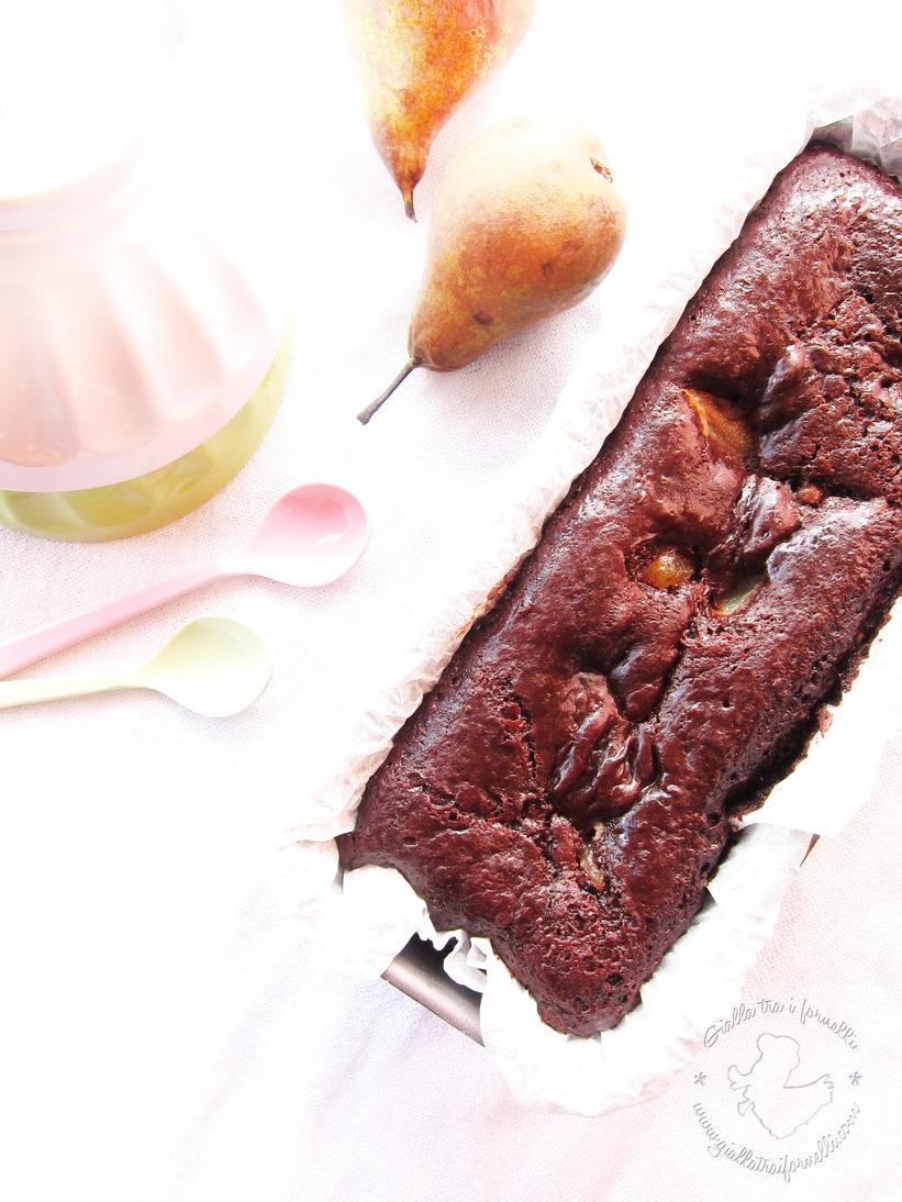 Chocolate Pear Plum Cake - Plum Cake Cioccolato e Pere