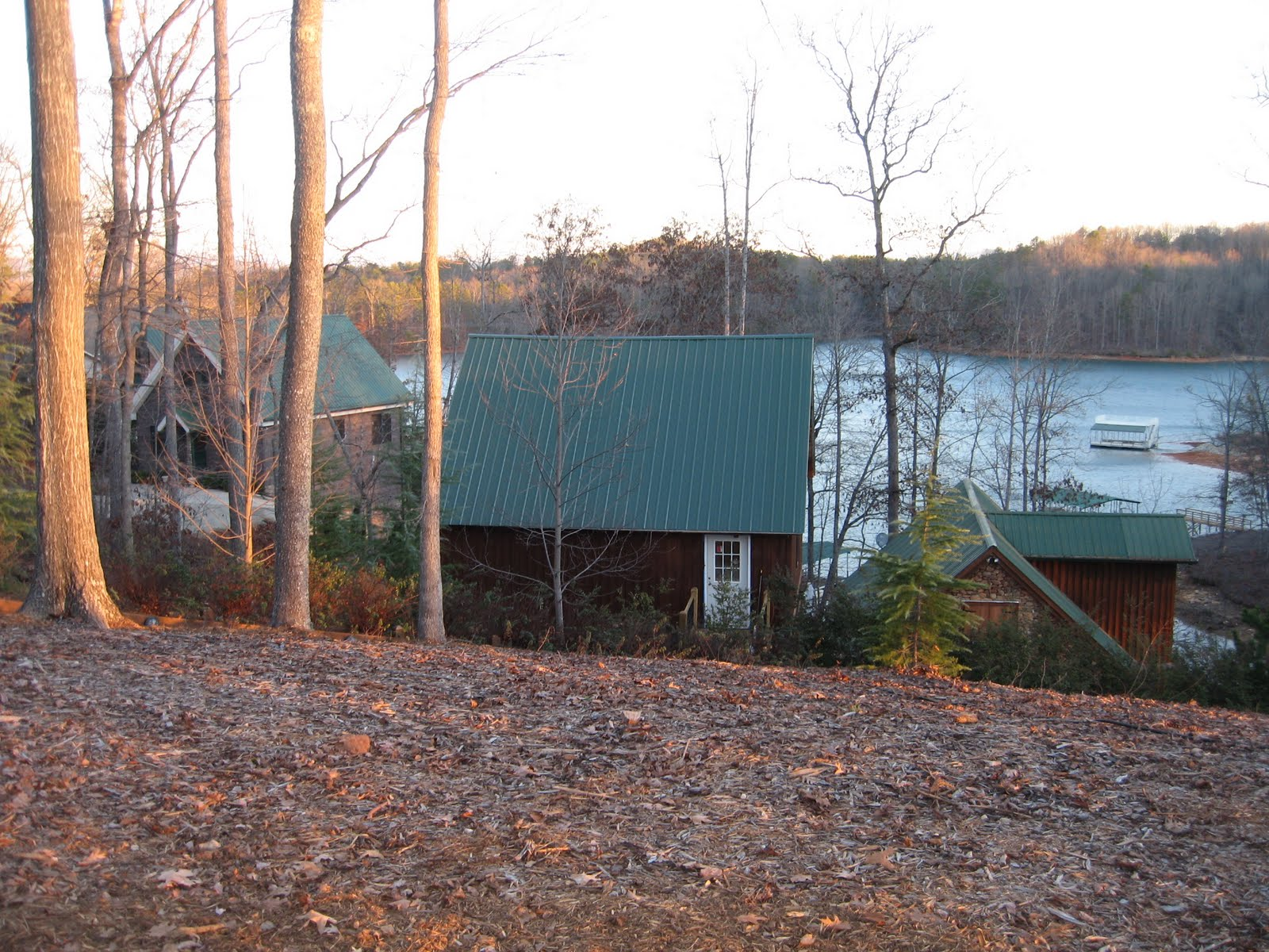 The Barry's Lake House title=