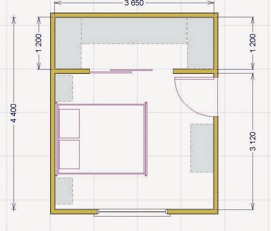 La cabina armadio soluzioni tipologie e costi - Misure di un letto matrimoniale ...