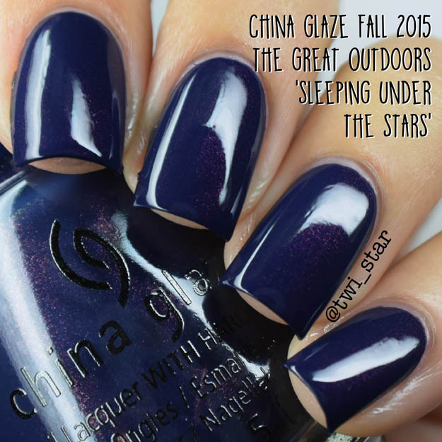 China Glaze The Great Outdoors Fall 2015 Sleeping Under The Stars