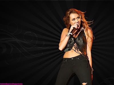 Miley Cyrus beautiful Wallpaper