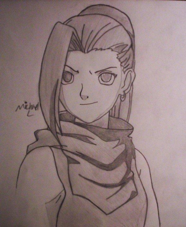 Anime drawings naruto