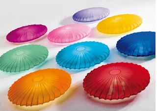 Plafonnier multicolore