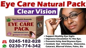 EYE CARE NATURAL PACK FOR HEALTHY VISION AND EYESIGHT