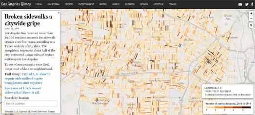 Mapping LA's Broken Sidewalks
