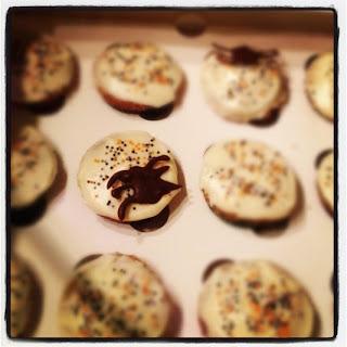 Carrot cupcake...