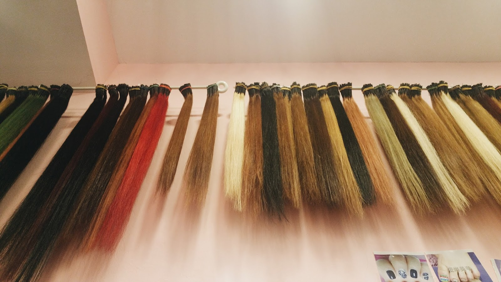Shermaine chan vain beauty hair extensions as you can see they have quite a selection of hair colours so have no fear pmusecretfo Gallery