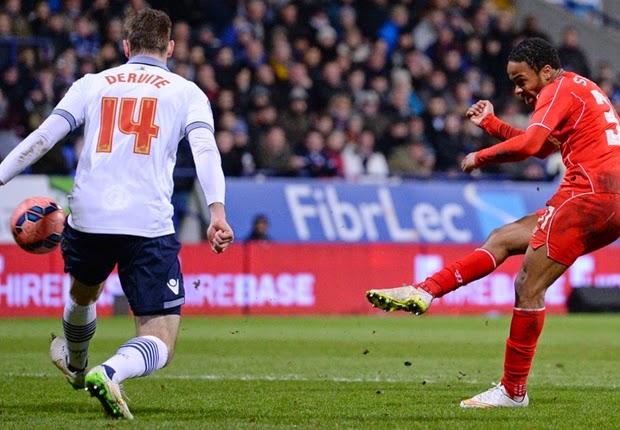 Liverpool Menang Tipis Atas Bolton Wanderers 2-1