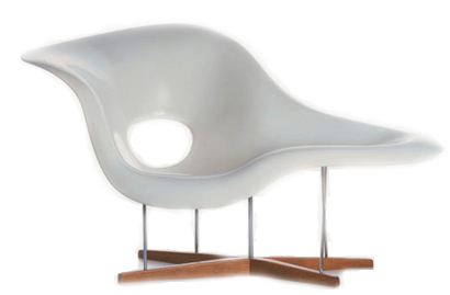 Furniture Design idea: Eames La Chaise - Chair Design by Charles and ...