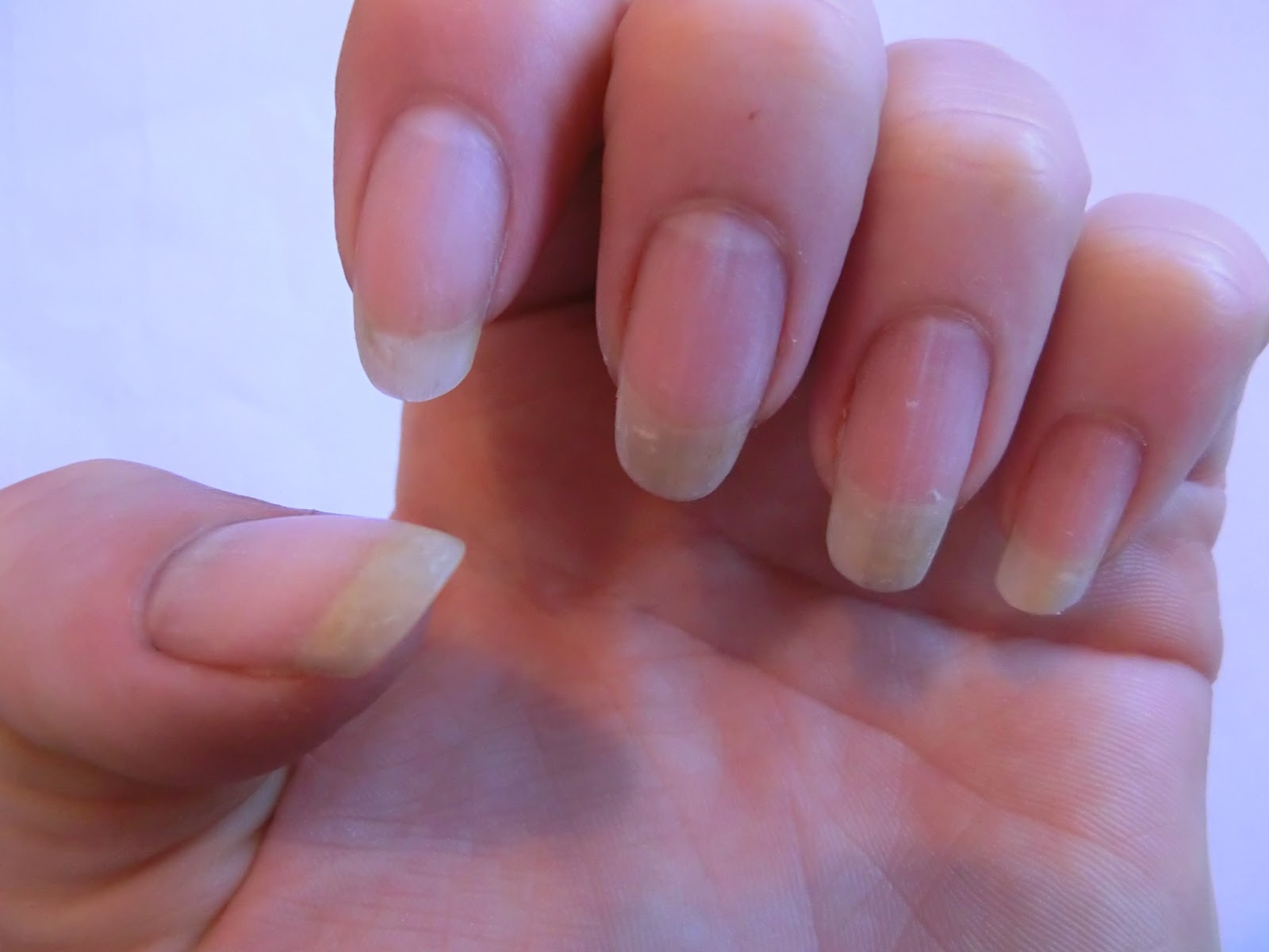 Nikkick\'s Nails...: Bye Bye Gelish, French & Blue starred...