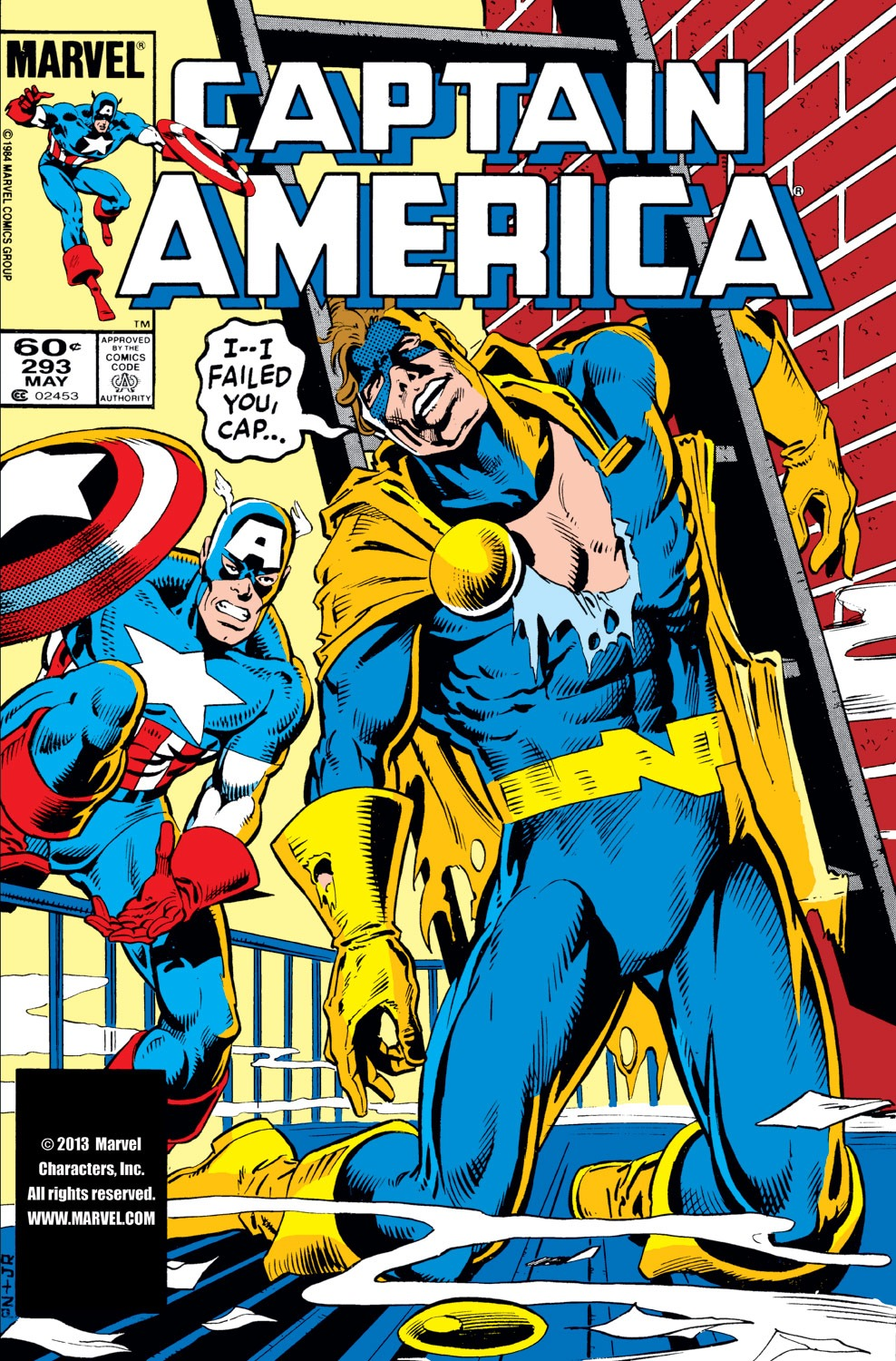 Captain America (1968) Issue #293 #221 - English 1