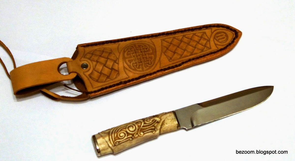 Handmade knife from Ukraine