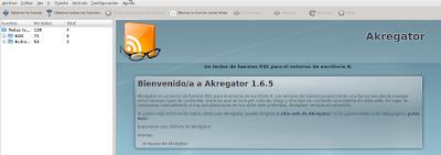 Imagen de akregator en Ubuntu 10.04
