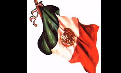 Bandera del pais Mexico