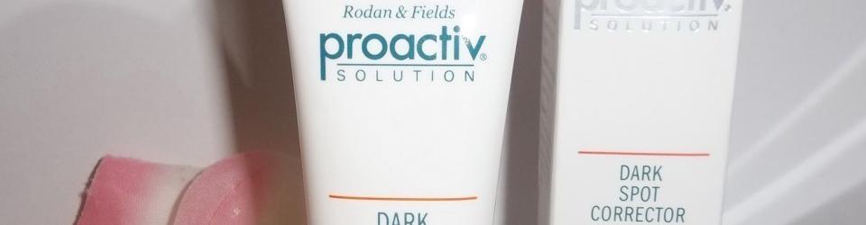 Proactive dark spot remover, corrector