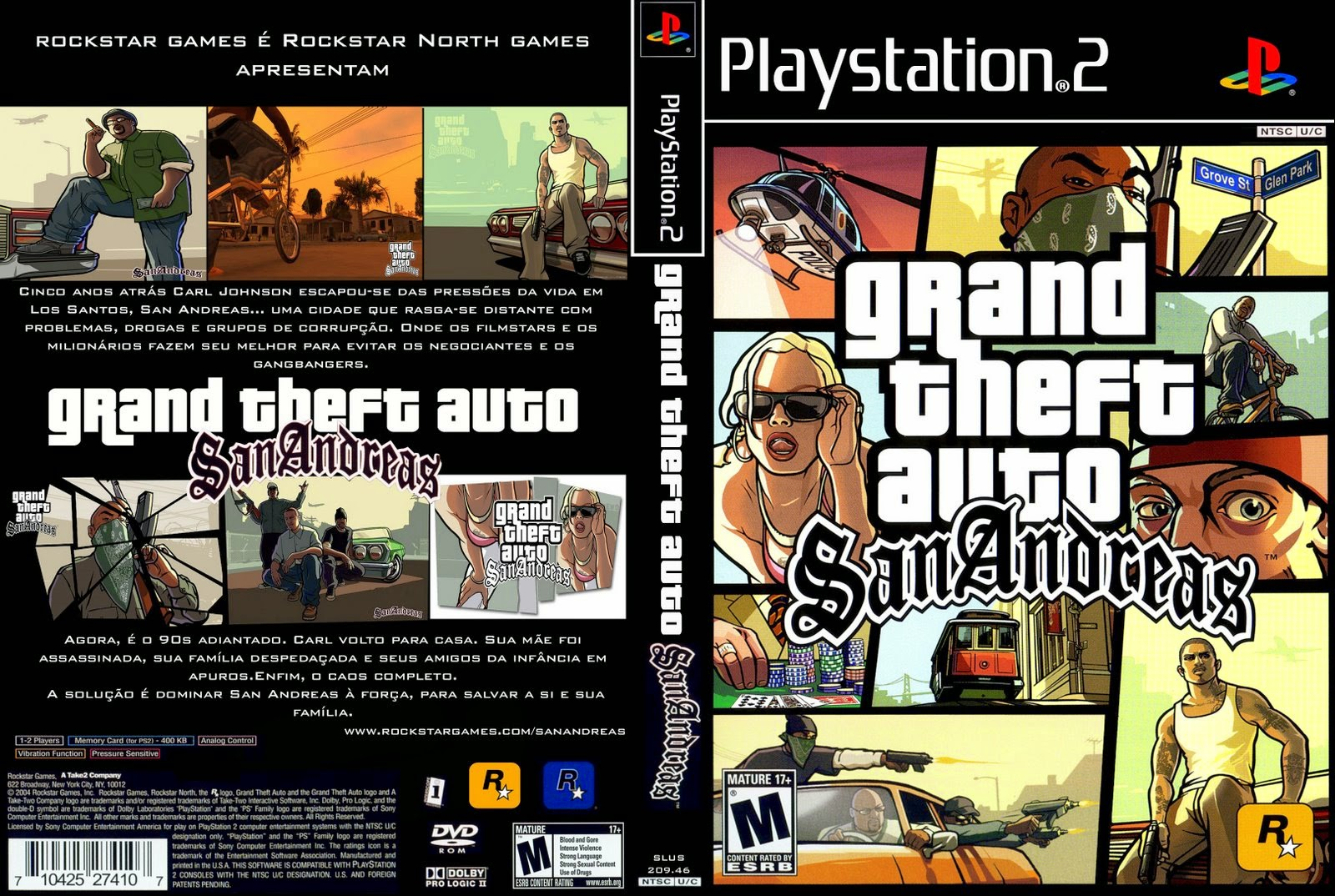 Cheat Langsung Tamat Grand Theft Auto San Andreas PS2