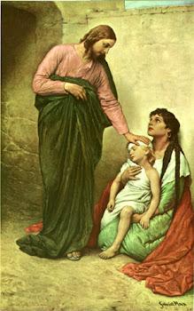 JESUS O MÉDICO MAIOR, CURAI-NOS DOS MALES DO CORPO E DA ALMA.