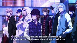 K: Return of Kings Episode 1 Subtitle Indonesia