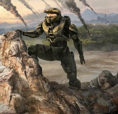Concept Art Halo 4 Jonathan Bach