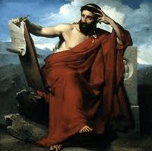 فيلسوف يوناني يتأمل