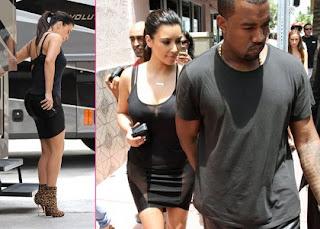 Kim Kardashian's Bra-Baring Studio Session with Kanye West » Gossip | Kim Kardashian | Kanye West