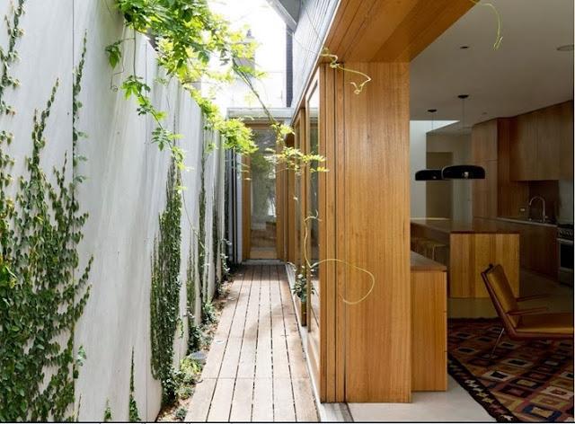 Casa al aire libre y con mucha luz natural dise o de - Casas con luz natural ...