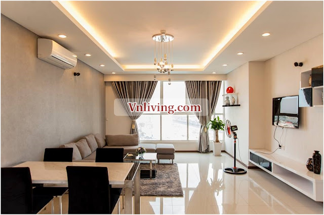 Thao Dien Pearl apartment for rent 140sqm 3 bedrooms District 2