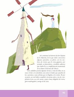 Don Quijote de la Mancha - Español Lecturas 5to 2014-2015