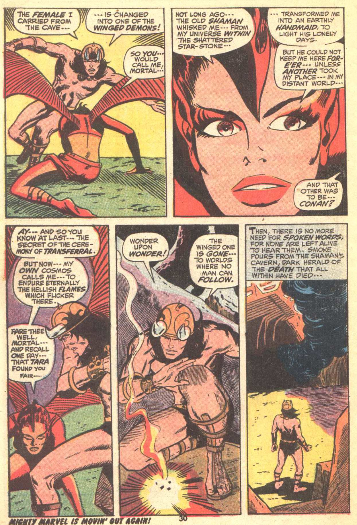 Conan the Barbarian (1970) Issue #22 #34 - English 21
