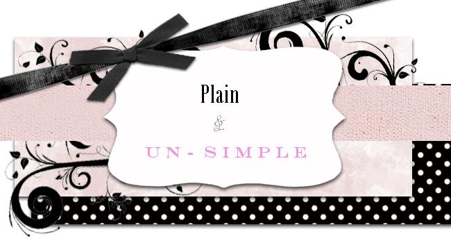 Plain and Un-simple