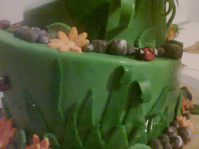 le ultime creazioni di zukkerando - dummy cake : torta fantasia di natale , torta coccinelle alla riscossa