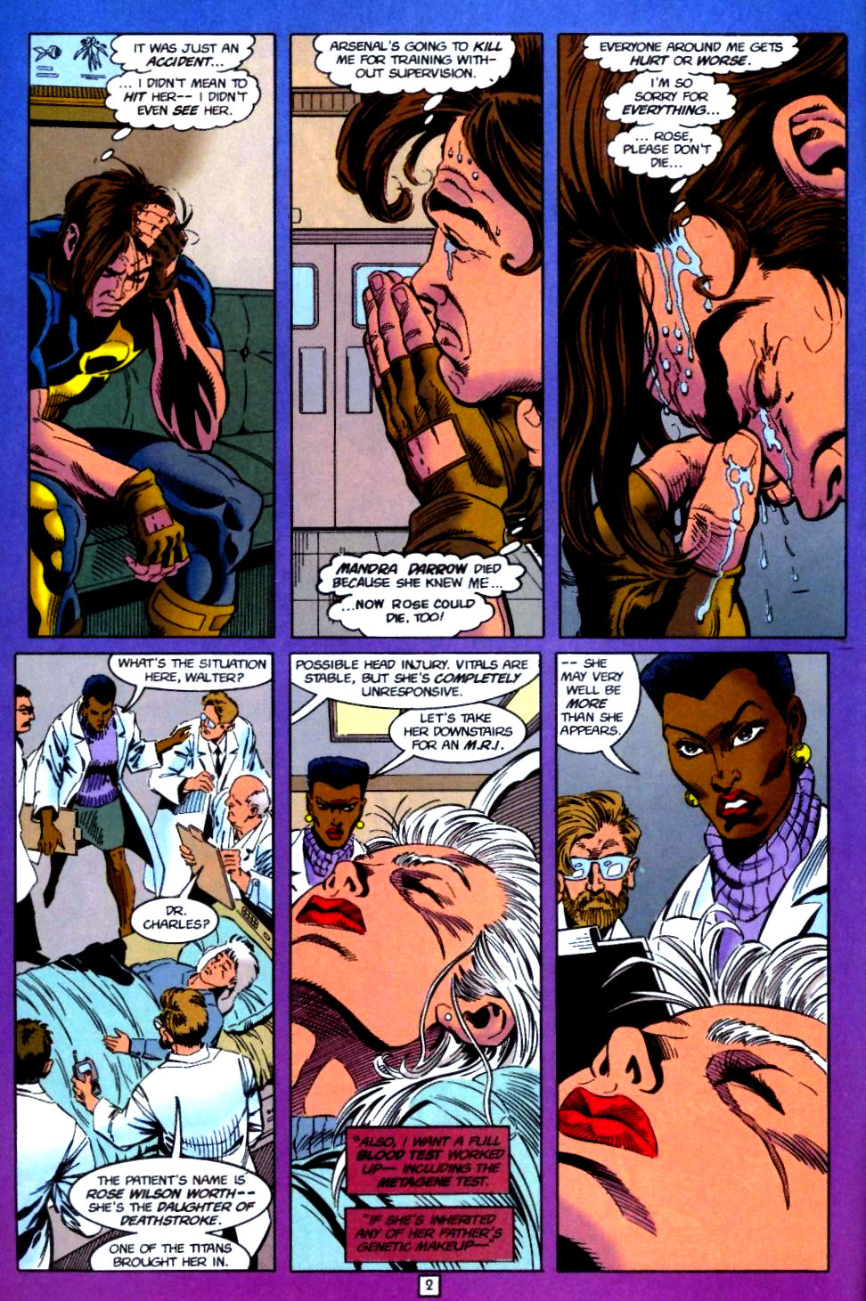 Deathstroke (1991) Issue #51 #56 - English 3