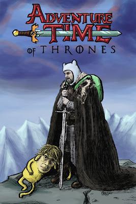 Ned y Tyriron hora de aventuras - Juego de Tronos en los siete reinos