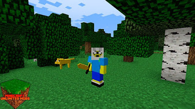 Adventure Time Craft Texture Pack finn y jake