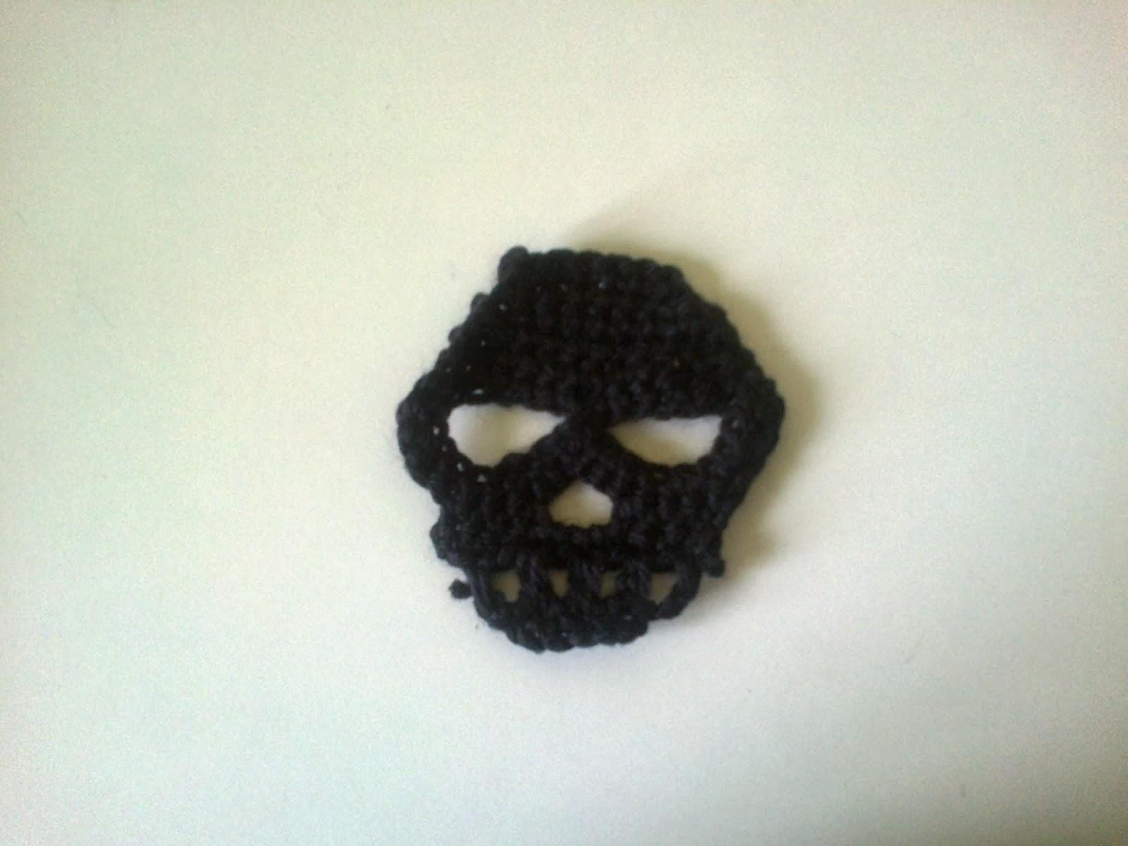 Haloweenowe szydełkowanie - crochet skull