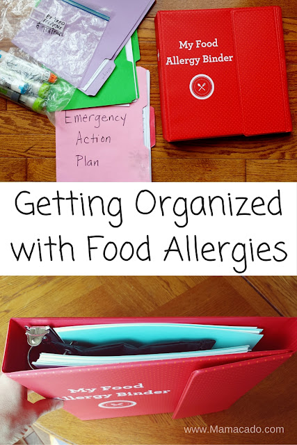 My Food Allergy Binder