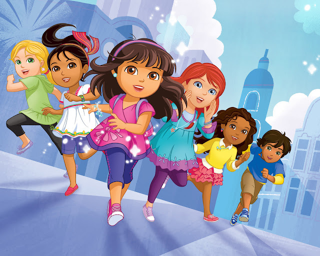 Dora and Friends, Au Coeur de la Ville