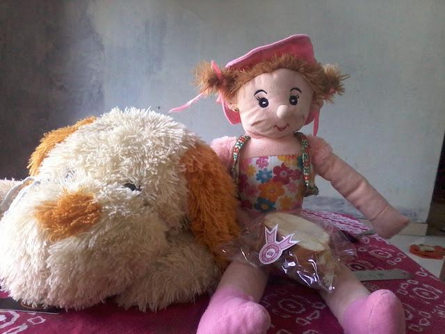 Boneka kesayangan putri
