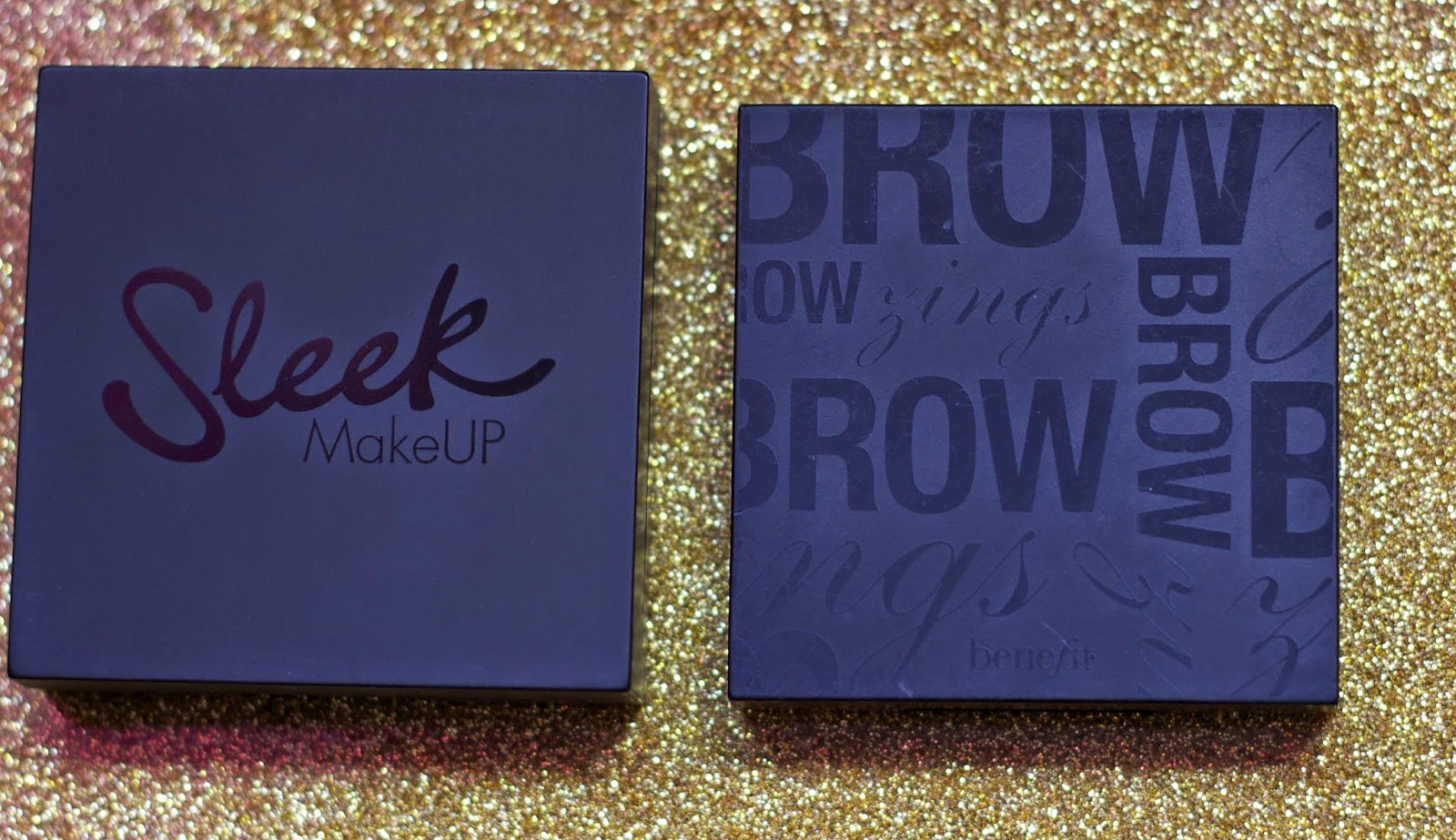 Review: Benefit Brow zings vs. Sleek Brow Palette | FiveTwoStyle
