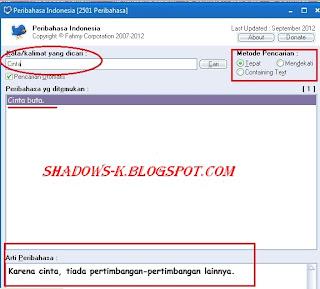 Software Peribahasa Indonesia Terlengkap
