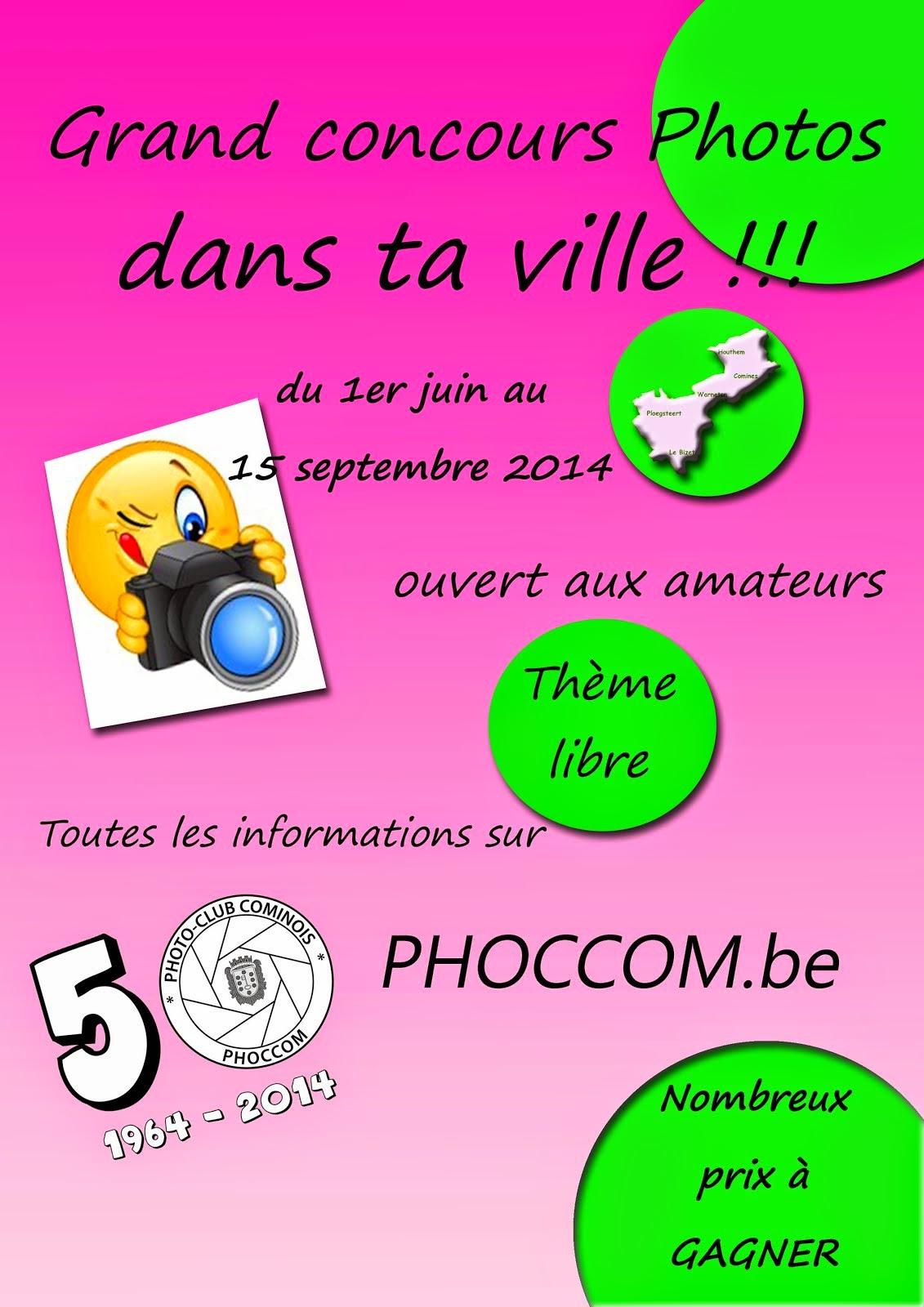 Concours photos du 1 juin au 15 septembre 2014