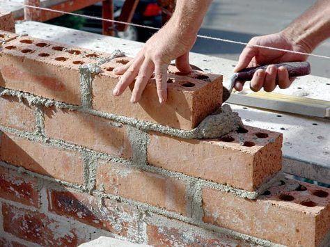 Construccion de muros de mamposteria de ladrillo