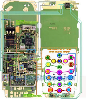 Nokia 1600 full jumper Pcb Layout - All About Mobiles