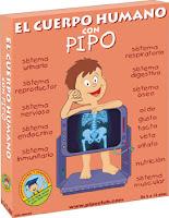 El cuerpo humano con Pipo: los aparatos del cuerpo