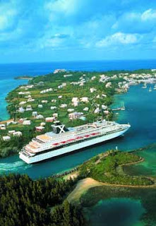Celebrity Cruises Horizon Entering St. Georges Bermuda